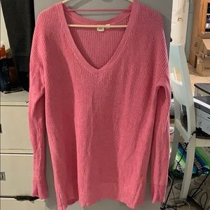 Pink over size sweater from GAP